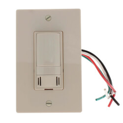 WhisperControl Humidity,<br>Timer, Condensate Control<br>On/Off (Almond) Product Image
