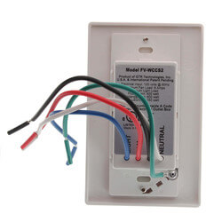 WhisperControl Humidity,<br>Timer, Condensate Control<br>On/Off/Light (White) Product Image