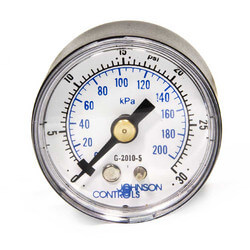 Air Pressure Gauge 0-30 PSI for T-5800 Series