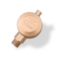"Gorton No. 1, 3/8"" Air Eliminator (Main Vent Valve)"