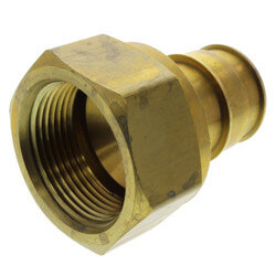 "1-1/4"" ProPEX DZR Brass Female Adapter Product Image"