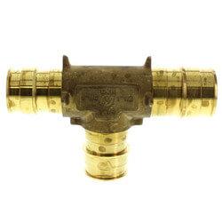 """ProPEX Brass Reducing Tee, 1-1/2"""" PEX x 1-1/4"""" PEX x 1-1/4"""" PEX Product Image"""