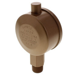 "Gorton No. 6, 1/4"" Straight Vapor Equalizing Valve"