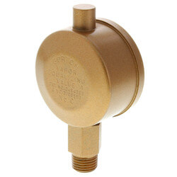 "Gorton No. C, 1/4"" Straight Vapor Equalizing Valve"