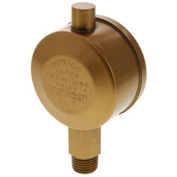"Gorton No. D, 1/4"" Straight Vapor Equalizing Valve"
