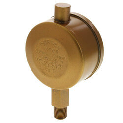 "Gorton No. D, 1/8"" Straight Vapor Equalizing Valve"