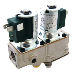 "1/2"" Pressure Regulator with Bottom Adjust and Twin Solenoids (25 VAC)"