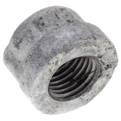 "1/4"" Galvanized Malleable Cap Product Image"