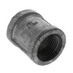 """1/2"""" Galvanized Malleable Banded Coupling Product Image"""