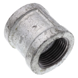 """1"""" Galvanized Malleable Banded Coupling Product Image"""