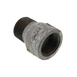 "1-1/2"" Galvanized Fitting Extension Piece Product Image"