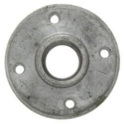 "1"" Galvanized Floor Flange w/ Holes Product Image"