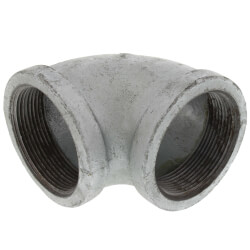"""2"""" Galvanized Malleable 90° Elbow Product Image"""