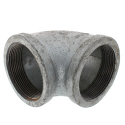 """3"""" Galvanized Malleable 90° Elbow Product Image"""