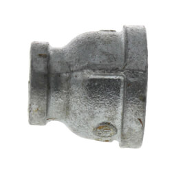 """1"""" x 3/8"""" Galvanized Malleable Reducing Couplings Product Image"""
