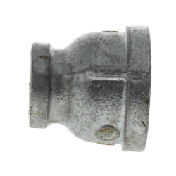 """1"""" x 1/2"""" Galvanized Malleable Reducing Couplings Product Image"""