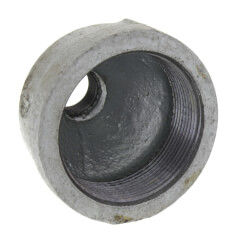 """2"""" x 1/2"""" Galvanized Malleable Reducing Couplings Product Image"""