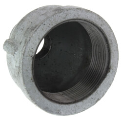 """2"""" x 3/4"""" Galvanized Malleable Reducing Couplings Product Image"""