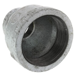 """2"""" x 1"""" Galvanized Malleable Reducing Couplings Product Image"""