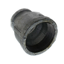 """2"""" x 1-1/4"""" Galvanized Malleable Reducing Couplings Product Image"""