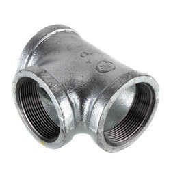 "2"" Galvanized Malleable Tee Product Image"