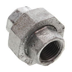 "1/2"" Galvanized Malleable Union Product Image"