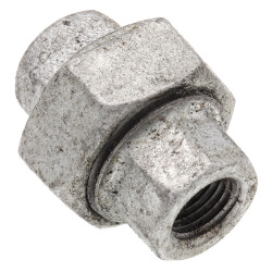 "1/4"" Galvanized Malleable Union Product Image"