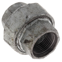 "3/4"" Galvanized Malleable Union Product Image"