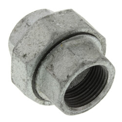 "1"" Galvanized Malleable Union Product Image"