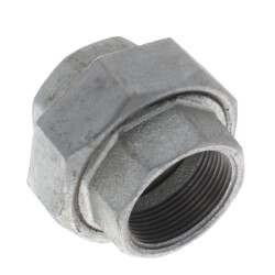 "1-1/2"" Galvanized Malleable Union Product Image"