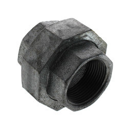 "1-1/4"" Galvanized Malleable Union Product Image"