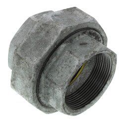 "2"" Galvanized Malleable Union Product Image"