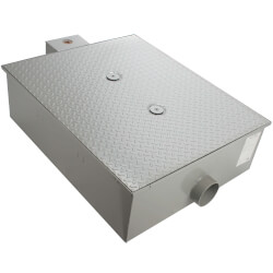 70# Lo-Pro Grease Trap, 35gpm