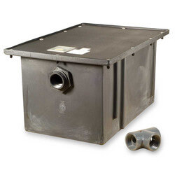 50# Polyethylene Grease Trap, 25gpm