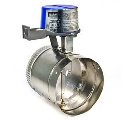 "6"" Automatic GVD Vent Damper, without harness"