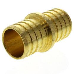 "1"" PEX x 1"" PEX Brass Coupling (Lead Free) Product Image"