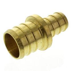 "1/2"" PEX x 3/4"" PEX Brass Coupling (Lead Free) Product Image"