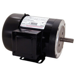 56HC Squirrel 3-Phase Motor (208-230/460V,<br>1725 RPM, 1-1/2 HP) Product Image
