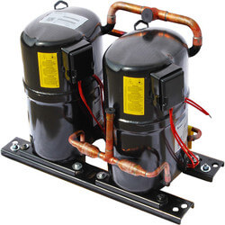 121,600 BTU R-22 Dual Tandem Compressor<br>10 HP (200/230V) Product Image