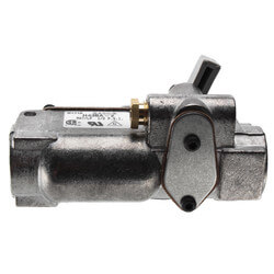 "1/2"" Automatic Pilot Gas Valve w/ Manual Shutoff (150,000 BTU) Product Image"