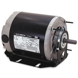 "6-1/2"" ODP Rigid Base Motor, 3/4 HP, 1800 RPM, Reversible (200-230/460V) Product Image"