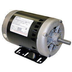 "6-1/2"" PSC Motor, 1 HP, 1800 RPM, Reversible (200-230/460V) Product Image"