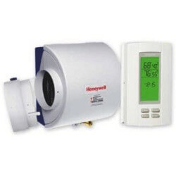 honeywell whole house humidifier installation instructions
