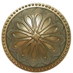 """5-1/2"""" Hermosa Dome Cleanout Cover (Glamour Gold) Product Image"""