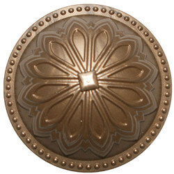 """5-1/2"""" Hermosa Dome Cleanout Cover (Beachnut Bronze) Product Image"""