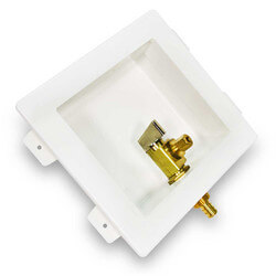 "Ice Maker Box, 1/2"" PEX Valve"