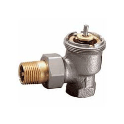 "1"" Angle Valve for High Capacity Radiator"