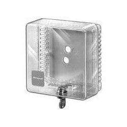 Small Universal Thermostat Guard - Clear Cover (T87)