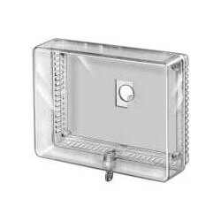 Large Universal Thermostat Guard - Clear Cover