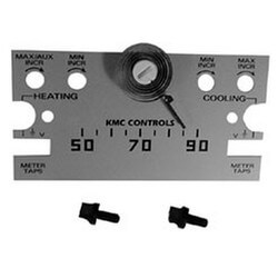 Scaleplate for KMC Control Horizontal<br>°F Thermostats Product Image